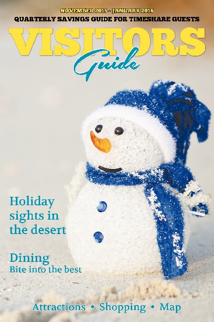 November 2015 - January 2016, Visitors Guide
