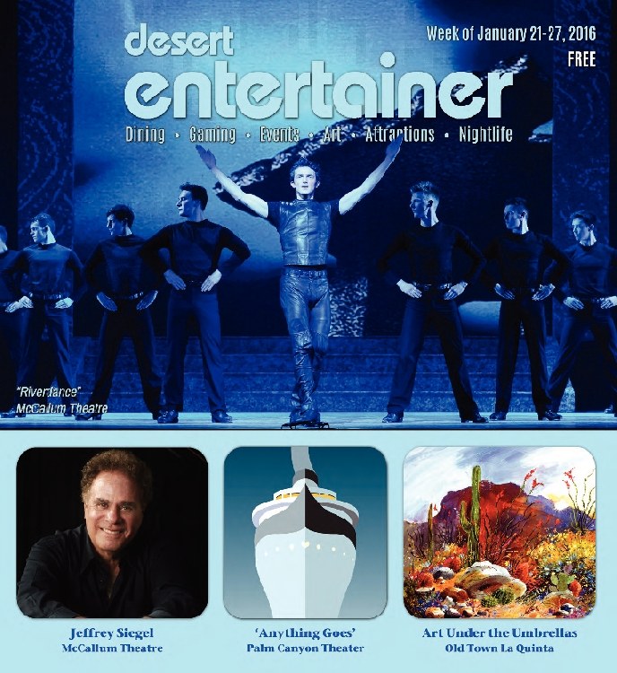 January 21, 2016 Desert Entertainer
