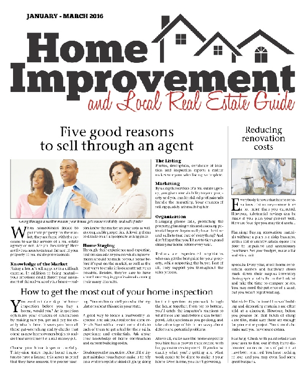 January - March 2016, Real Estate Guide