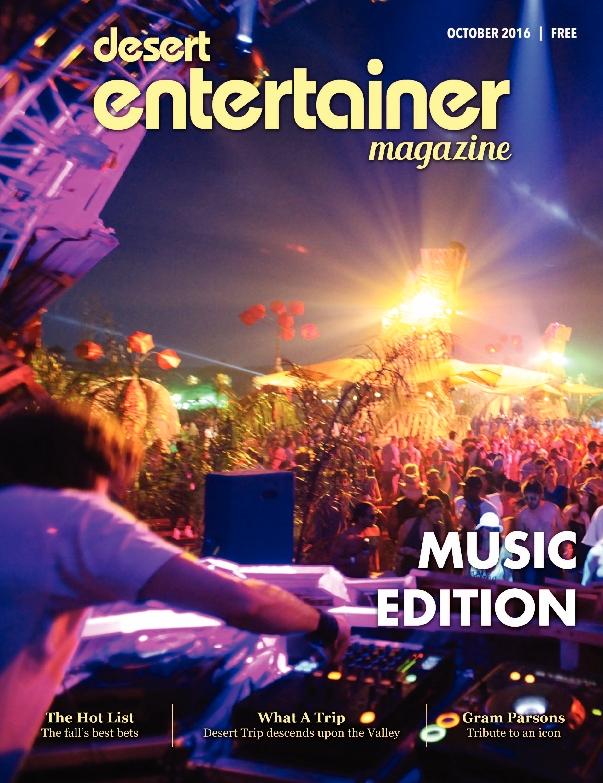 Desert Entertainer Magazine: Music Edition – October 2016