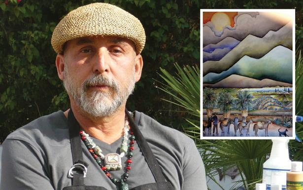 Local Artist showcases new work in Palm Desert
